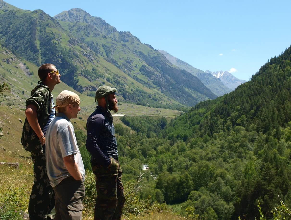 На подходе к Эльбрусу