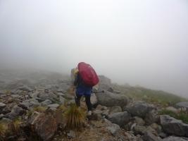 Спуск с вершины